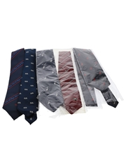 Scotch Whisky Neckties Ballantine's, Bell's, Famous Grouse, Isle of Skye, Whyte & Mackay