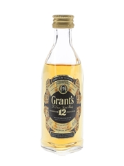 Grant's 12 Year Old Bottled 1980s 5cl / 40%