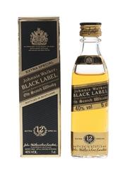 Johnnie Walker 12 Year Old Black Label