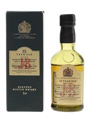 J & B 15 Year Old Reserve Bottled 1980s 5cl / 43%