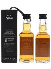 Jack Daniel's Old No.7  2 x 5cl / 40%