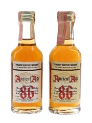 Ancient Age 86 Bottled 1980s 2 x 5cl / 43%