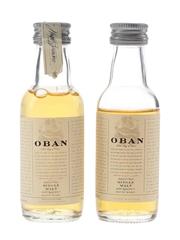 Oban 14 Year Old Bottled 1990s 2 x 5cl / 43%