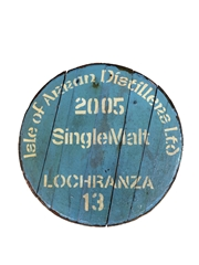 Isle Of Arran Distillers Ltd. 2005 Cask End