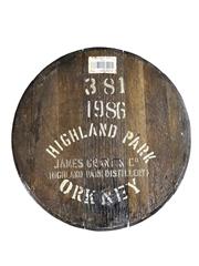 Highland Park 1986 Cask End