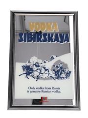 Sibirskaya Vodka Mirror Plodimex 34cm x 48cm