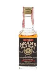 Beam's 101 Months Sour Mash Black Label Bottled 1970s-1980s 4.7cl / 45%