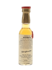 Glenfarclas 1970 25 Year Old Bottled 1995 - Noord's Authentic Collection 4cl / 43%