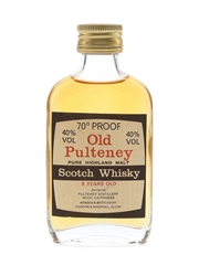 Old Pulteney 8 Year Old Bottled 1970s-1980s - Gordon & MacPhail 5cl / 40%