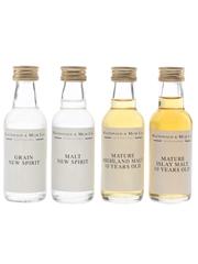 MacDonald & Muir Matured Malt & New Spirit  4 x 5cl