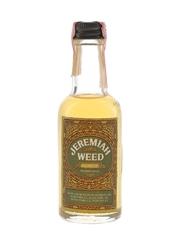 Jeremiah Weed Bourbon Liqueur Bottled 1980s 5cl / 50%