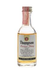 Old Thompson Premium Bottled 1970s-1980s 5cl