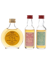 Maund's Blended Scotch Whisky Maund's 1985, 1990 & 1991 Guinness World Record 3 x 7.1cl & 5cl / 40%