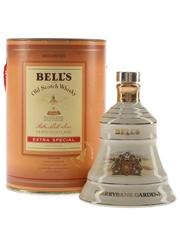 Bell's Cherrybank Gardens Bottled 1980s - Ceramic Decanter 5cl / 43%