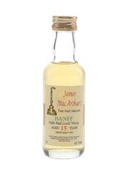 Banff 1976 15 Year Old Mini Bottle Club 1993 - James MacArthur's 5cl / 61.1%