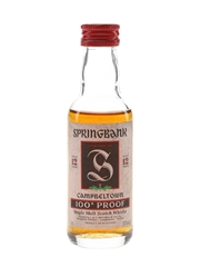 Springbank 12 Year Old 100 Proof
