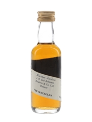 Macallan Spiral Label Bottled 1970s - Trade Sample 5cl / 40% ABV