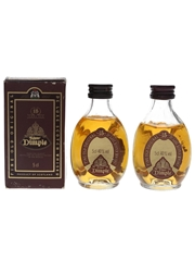 Haig's Dimple 15 Year Old Bottled 1990s 2 x 5cl / 40%
