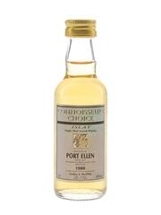 Port Ellen 1980 Connoisseurs Choice Bottled 1990s - Gordon & MacPhail 5cl / 40%