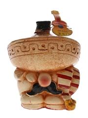 Bodega Garces Brandy Mexican Ceramic Decanter 4cl / 38%