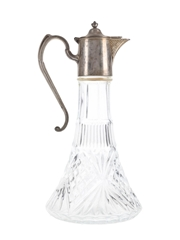 Silver Plated Claret Jug  30cm Tall