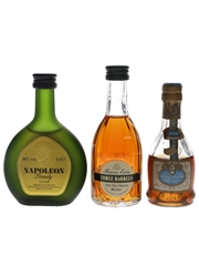 Napoleon, Three Barrels & Vignac  3 x 5cl