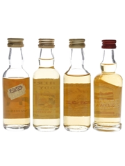 Assorted Blended Scotch Bottled 1970s-1990s 4 x 5cl / 40%