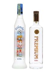 Krolewska Wodka & Premium Vodka 70cl & 75cl