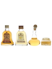 Bell's, Kenmore & Stylish Blended Scotch Bottled 1960s & 1990s 4 x 4.7cl-5cl