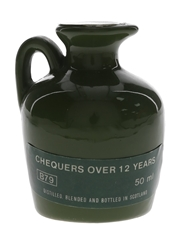 Chequers 12 Year Old Bottled 1980s 5cl