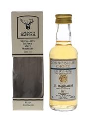 St Magdalene 1981 Connoisseurs Choice Bottled 1990s - Gordon & MacPhail 5cl / 40%