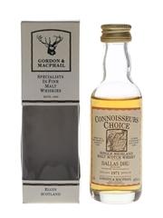 Dallas Dhu 1971 Connoisseurs Choice Bottled 1990s - Gordon & MacPhail 5cl / 40%