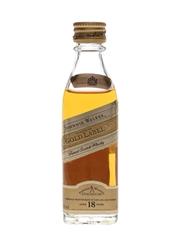 Johnnie Walker 18 Year Old Gold Label