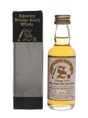 Rosebank 1974 17 Year Old Cask 5061 Bottled 1992 - Signatory Vintage 5cl / 43%