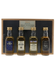 St Michael Malt Selection Highland, Lowland, Speyside & Islay 4 x 5cl / 40%