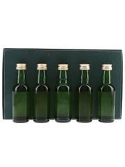 James MacArthur's Fine Malt Selection Blair Athol, Bunnahabhain, Dufftown, Glenlossie, Speyburn 5 x 5cl