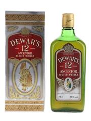 Dewar's Ancestor 12 Year Old Bottled 1980s 75cl / 40%