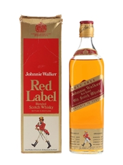 Johnnie Walker Red Label Bottled 1980s - Duty Free 75cl
