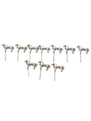 White Horse Lapel Pins