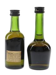 Courvoisier VSOP Bottled 1990s 2 x 5cl / 40%