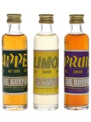 De Kuyper Appel, Limon, Pruim  3 x 4cl / 20%
