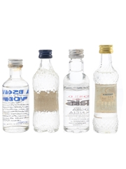Absolut, Finlandia, Fris & Nikita Vodka  4 x 4cl-5cl