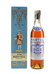 Martell VOP 3 Star Bottled 1965 - 250th Anniversary 70cl