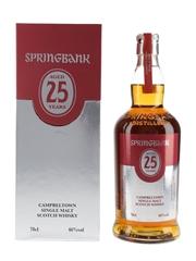 Springbank 25 Year Old