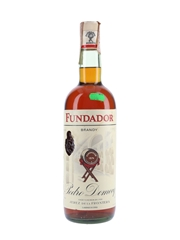 Pedro Domecq Fundador Brandy Bottled 1980s 100cl / 37.5%
