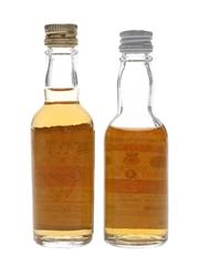 Gilbey's Spey Royal & Glendrostan Bottled 1960s & 1970s 4.7cl & 5cl