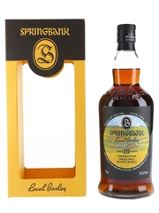 Springbank 2010 10 Year Old Local Barley Bottled 2020 70cl / 55.6%