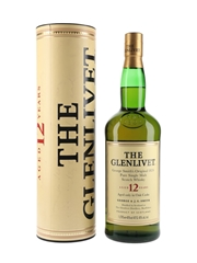 Glenlivet 12 Year Old Old Presentation 100cl / 40%