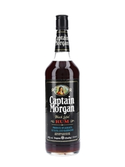 Captain Morgan Black Label Rum Bottled 1980s 100cl / 43%