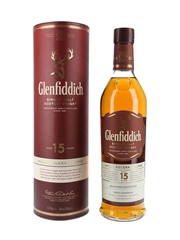 Glenfiddich 15 Year Old Unique Solera Reserve - Personalised Label 70cl / 40%
